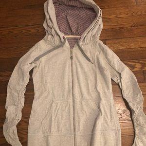 Lululemon reversible zip up hoodie